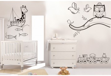 Vinilo decorativo - Pack infantil 1