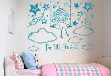 Vinilo decorativo - the little princess