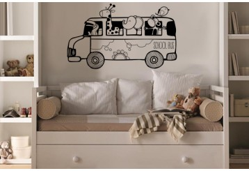 Vinilo decorativo - School bus